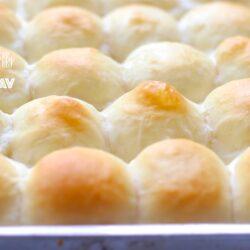 A slab of Ladi Pav | Soft dinner rolls