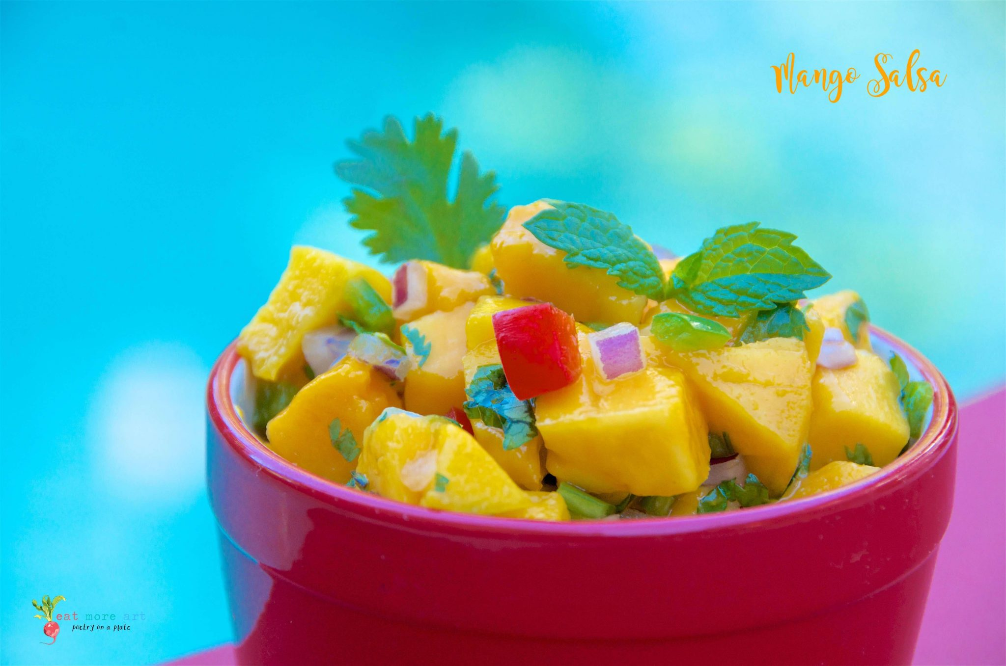 Mango Salsa | Eat More Art