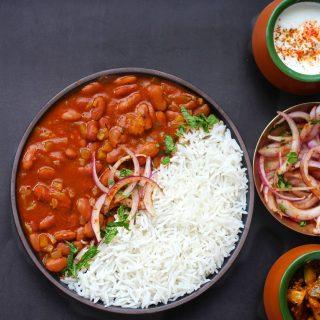 Rajma Chawal   Curried Kidney Beans & Rice