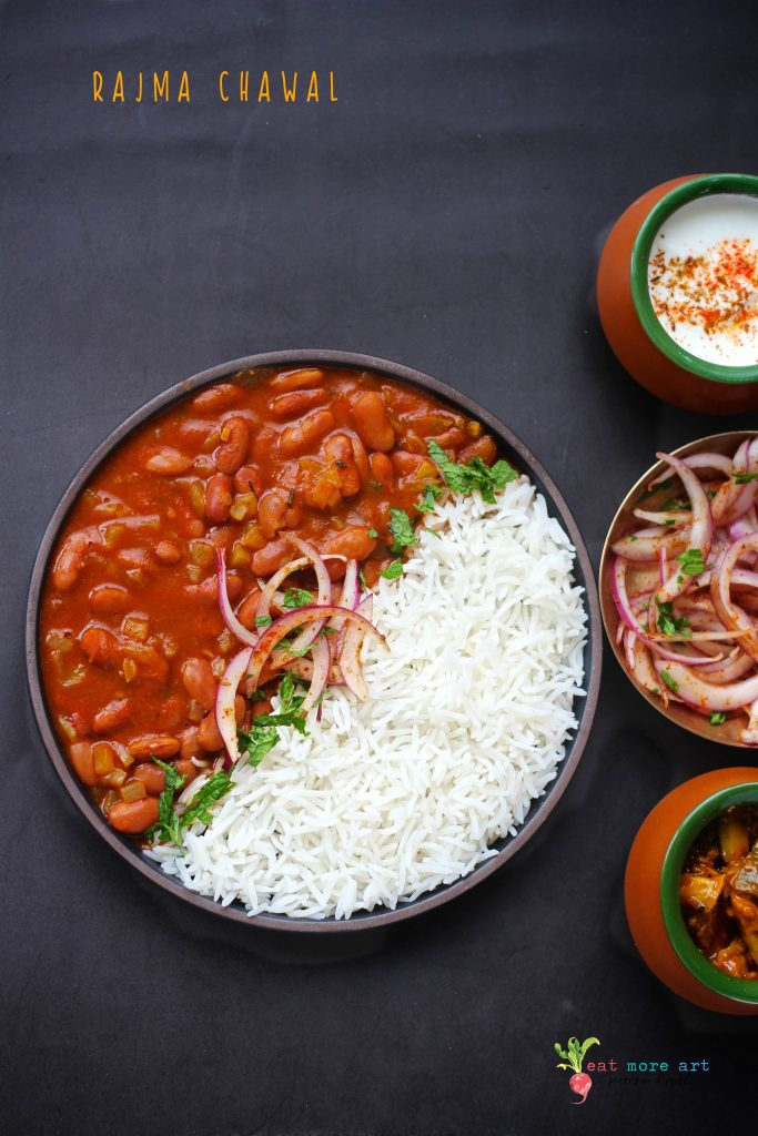 Rajma Chawal | Curried Kidney Beans & Rice